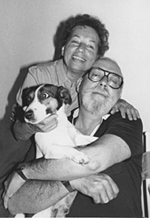 Joan, Harry, and the pup Vladimir