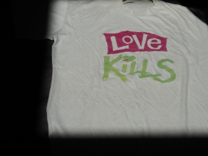Love Kills London t-shirt